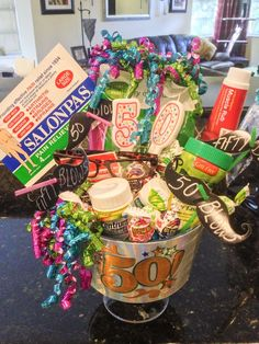50th Birthday Gag Gifts Ideas For Women Party