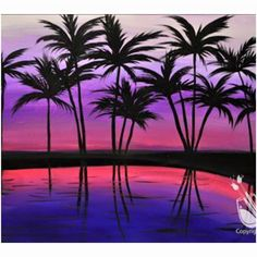 **PARADISE PALMS** on Saturday at 7-9 pm.  Reserve in advance at www.paintingwithatwist.com/panama-city or Call (850) 640-3287 to pay by phone.