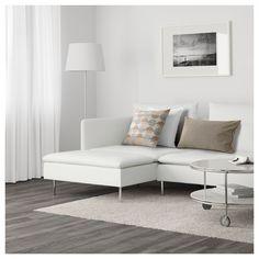 IKEA - SÖDERHAMN Sectional, 5-seat Finnsta white