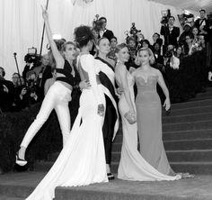 2014 Met Gala fashion dresses Stella McCartney girls