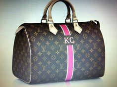 My new bag! (Ordered.... Being custom made in the wonderful land of France... Will be mine in about 8-10 weeks) - Louis Vuitton Speedy 30 with Mon Monogram in ivory & fuchsia.