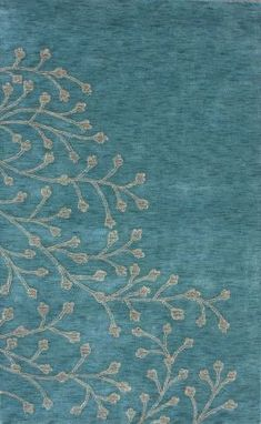 Elicia---    Click above image to enlarge  Rug Pad  Rugs USA Santa Ana Elicia Blue Nile Rug  Item #: 200MJSM13A-P