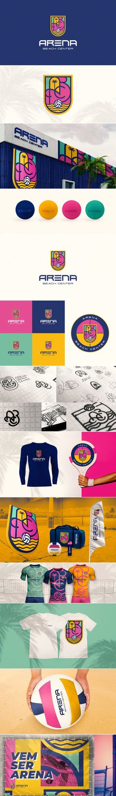 Corporate Identity Design, Brand Identity Design, Visual Identity, Branding Design, Branding Agency, Logo Branding, Beach Logo, Signage Design, Logo Design Inspiration