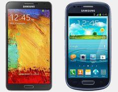 Vergelijking Samsung Galaxy Note 3 vs Samsung Galaxy S3 Mini | Versus OS