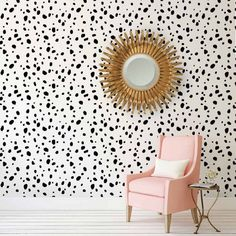 Try wall stencils in