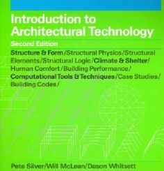 Introduction to Architectural Technology (Paperback)