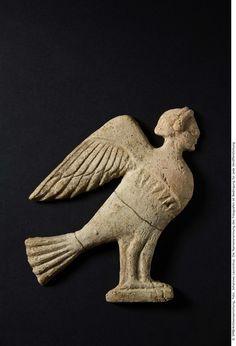 Relief with siren, fifth century A.C., © SMB/Antikensammlung, Berlino / Foto: Johannes Laurentius