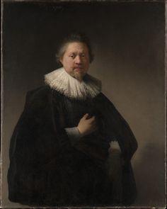Portrait d'un homme probablement un membre de la famille des Van Beresteyn (1632, Metropolitan Museum of Art, New-York) de Rembrandt van Rijn (1606-1669)