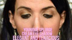 ELEGANT and TENACIOUS Younique Splurge Cream Eye Shadow with Sexy Natura...