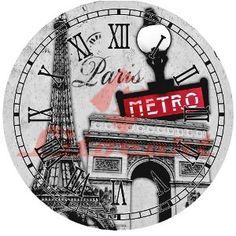 Decoupage Relogio Grande Londres Litocart LDRG-15 - PalacioDaArte