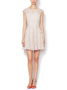 Sunflower Lace Fit & Flare Dress by The Letter at Gilt