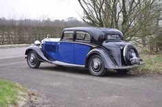 Rolls-Royce 20/25 H.P. sports saloon