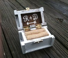 Hey, I found this really awesome Etsy listing at https://www.etsy.com/listing/176004412/rustic-wedding-ring-box-nautical-beach
