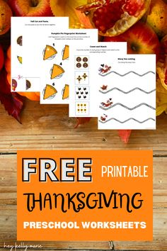 Free preschool printable thanksgiving worksheets. Printable thanksgiving learning activities. Preschool holiday education activities for homeschool education, classroom. #preschoolthanksgivingworksheets#printablethanksgivingworksheets#printablethanksgivingactivities#printablethanksgivingactivities#thanksgivinglearningactivities#printablethanksgiving Preschool Learning Activities, Free Preschool, Preschool Worksheets, Teaching Kids, Thanksgiving Worksheets, Thanksgiving Preschool, Kindergarten Readiness, Spring Crafts For Kids, Homeschool