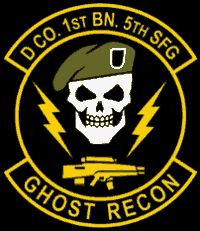 us special forces patches | The insignia on the right is the official insignia of The Ghosts, but ...