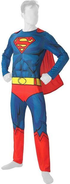 Rubie's Comic Book Superman Adult