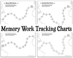 Memory Work Tracking Charts {Foundations & Essentials} - Half a Hundred Acre Wood