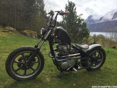 Found in a yard in Sweden. Check out how this bike turned out at www.xs650chopper.com