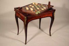 Table de Tric Trac d'époque Louis XV