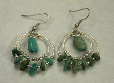 Loopy Turquoise Earrings Tutorial