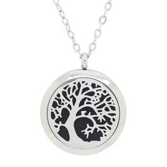 Tree of Life locket. Coming Soon! Essential Oil Diffuser, Essential Oils, Diffuser Necklace, 316l Stainless Steel, Aromatherapy, Jewelry Accessories, Perfume, Pendants, Pendant Necklace