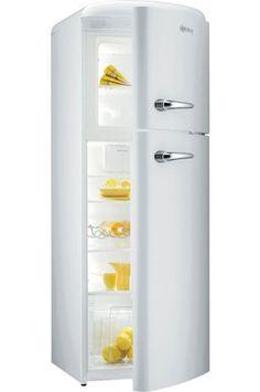Refrigerateur congelateur en haut Gorenje RF60309OW