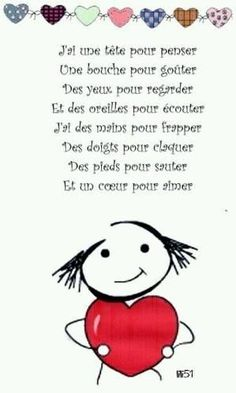Fête des mamans - lesptitsbricoleurss jimdo page! French Teaching Resources, Teaching French, How To Speak French, Learn French, French Body Parts, French Poems, Material Didático, French Education, Core French