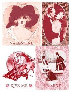 4 free vintage valentine printables... :)