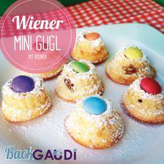 Wiener Mini Gugl mit Rosinen – BackGAUDI