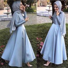 630 Likes, 11 Kommentare . Hijab Gown, Hijab Evening Dress, Hijab Dress Party, Hijab Wedding Dresses, Evening Dresses, Bridesmaid Dresses, Muslim Fashion, Modest Fashion, Hijab Fashion