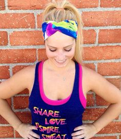 Workout headband crossfit headband fitness by CarteBlancheKeara