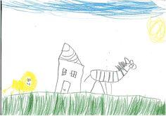 Zebra und Löwe