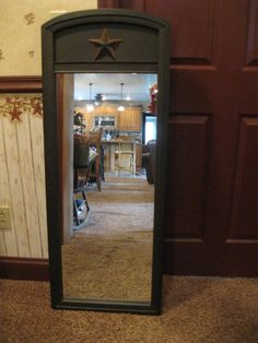 I see mirrors at my local junk store I going to buy one paint it and Prim it,the mirrors are only like 3.00 at the junk store that's cheap for a nice mirror when you are done!!!!
