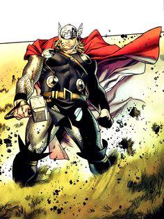 Thor (Thor Odinson) | art by Olivier Coipel