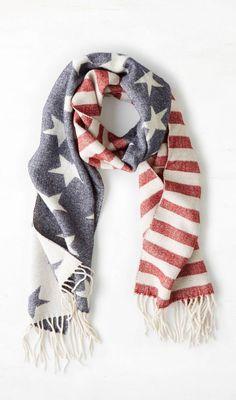 Americana Scarf