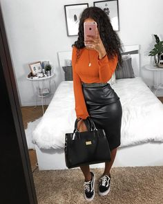 feminine fashion looks Pin# 18604 Dope Outfits, Cute Casual Outfits, Casual Chic, Stylish Outfits, Fall Outfits, Fashion Outfits, Womens Fashion, Black Outfits, Swag Outfits