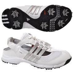 separation shoes 50c7c bbf44 Adidas Slingback 2.0 Womens Golf Shoes - White - 816204 - 9 US by adidas.