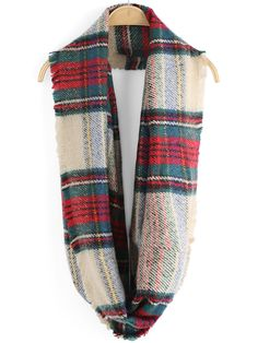 Shop Multicolor Fringe Plaid Scarve online. SheIn offers Multicolor Fringe Plaid Scarve & more to fit your fashionable needs.