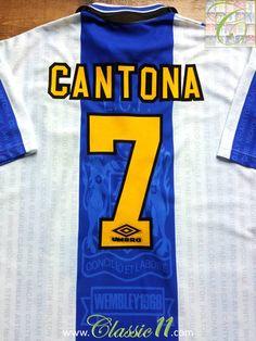 96-97 Man United Home Cantona 7 Flock Name und Nummer Weitere Sportarten