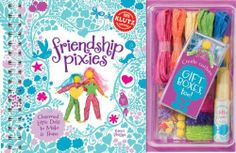 Friendship Pixies: Charmed Little Dolls to Make & Share (Klutz) by Karen Phillips. Save 10 Off!. $15.29. Series - Klutz. Reading level: Ages 8 and up. Publication: February 1, 2011. Publisher: Klutz; Pap/Toy edition (February 1, 2011)
