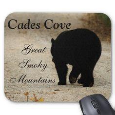 Cades Cove Black Bear Mousepad