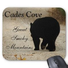 Cades Cove Black Bear Mousepad