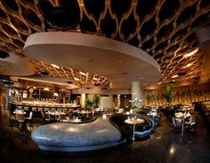 Koi Restaurant, Las Vegas designed by ICRAVE Design. Loving the ceiling, it sometimes gets forgotten...