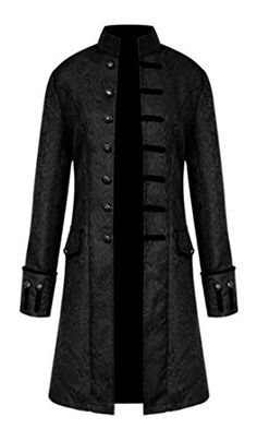 Beautiful MasaRave Mens Gothic Jacket Steampunk Victorian Jacquard Coat Mens Fashion Clothing. [$45.99 - 52.99] newforbuy from top store