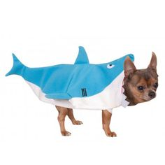 Your pup will have fun being a land shark this Halloween in the Shark Halloween Dog Costume! - Jacket with neck at mouth of Shark - One piece costume - Made of polyester Why We Love It: The Halloween