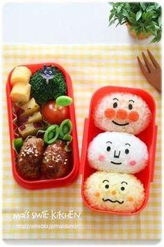 写真 Kawaii Bento, Cute Bento, Bento Recipes, Baby Food Recipes, Bento Ideas, Lunch Ideas, Japanese Bento Box, Japanese Food, Healthy Lunches For Kids