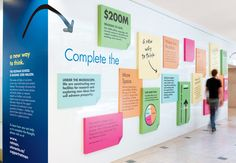 Nice environmental graphics for Rotman by Oxygen design.