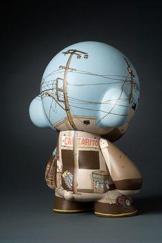 Munny Raiser | Custom Munny | Artist: Adam Haynes | Image 2 of 2