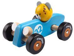 Cheetah Racing Car Träbil - PlanToys - Paddington's Leksaker
