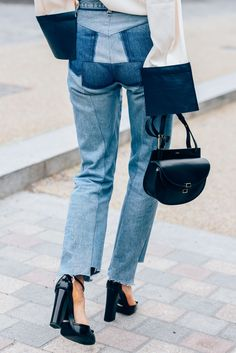 September 21, 2015  Tags Jeans, Gucci, London, Chloé, J.W. Anderson, Vetements, SS16 Women's